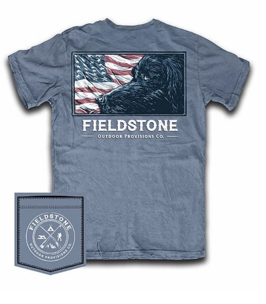 Fieldstone Lab Flag Graphic Tee