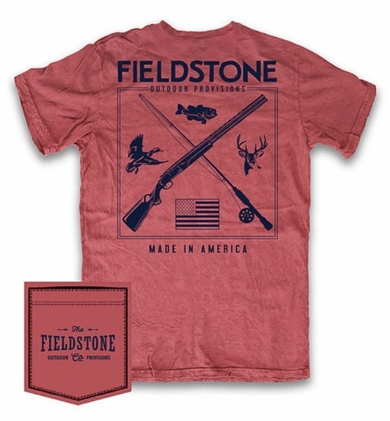 Fieldstone Hunting & Fishing Graphic Tee
