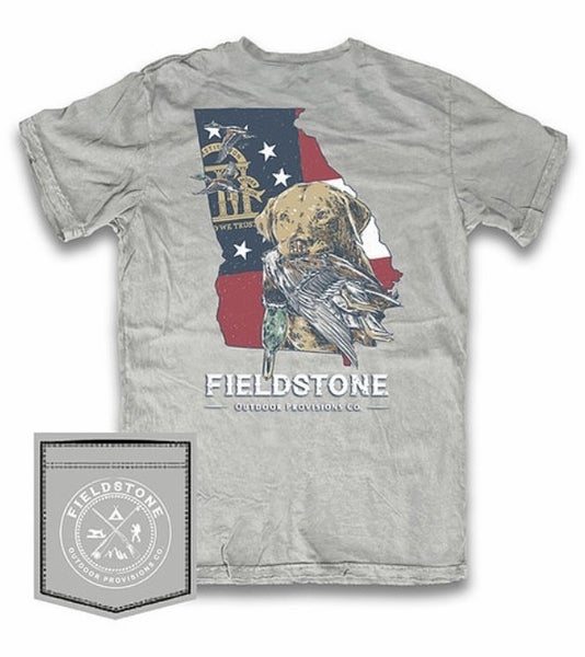 Fieldstone Georgia Bird Dog Graphic Tee