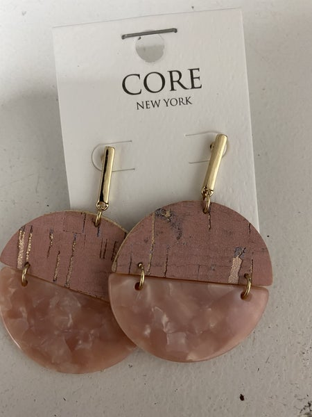 NOTHING TO LOSE BLUSH EARRINGS