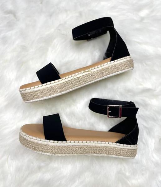 Strappy Platform Sandal