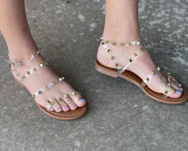 Lulu Studded Sandal