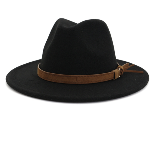 Leather Strap Hat