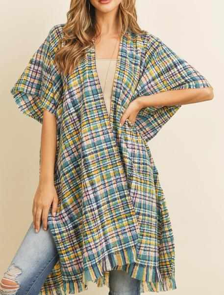 Perfect Plaid Kimono