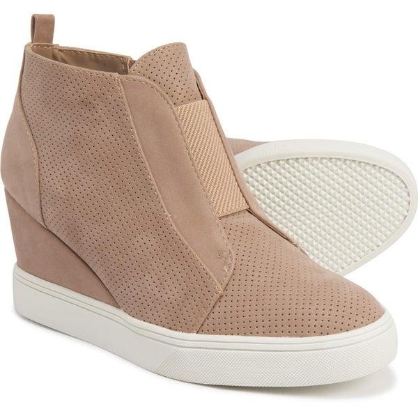 Mia Cristie Platform Wedge Sneaker