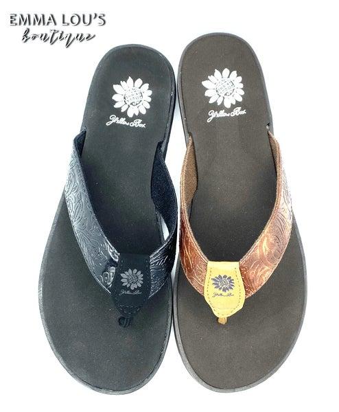 Yellow Box Delrio Flip Flop Sandal