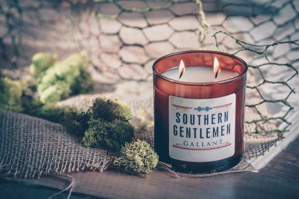 Masculine Scented Candle