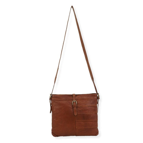 Leather Hudson Crossbody Bag