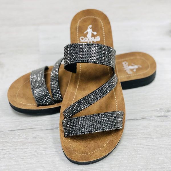 Corkys Kaplan Slip On Sandals