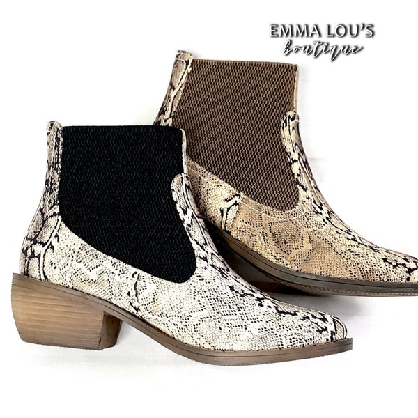 Corkys Hanover Snake Bootie