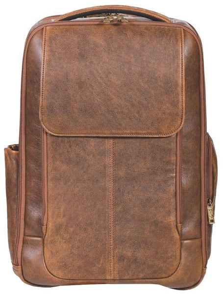 Scully 81st Aero Squadron Leather Backpack