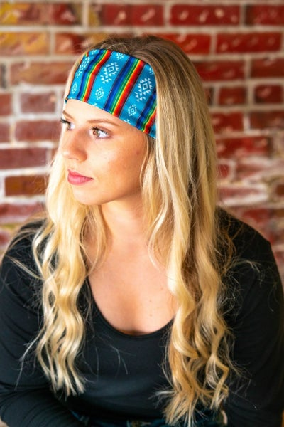 L&B Stretchy Serape Headband