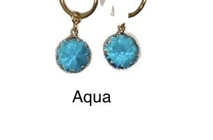 Melania Clara Sky Earrings