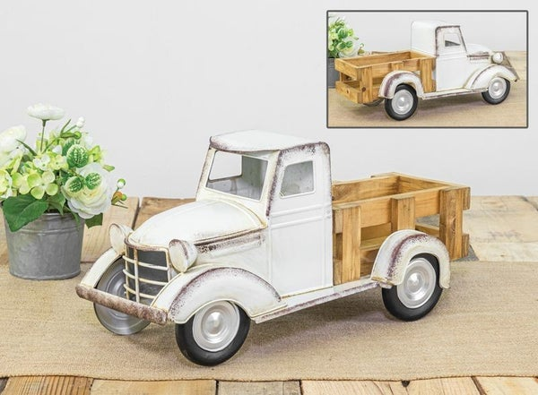 Wooden Truck Bed Tabletop Decor