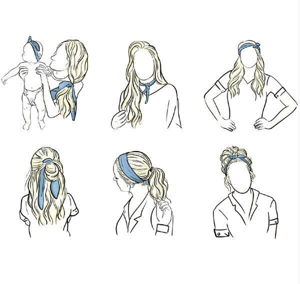 Headbands of Hope Knotted Headband - ATL