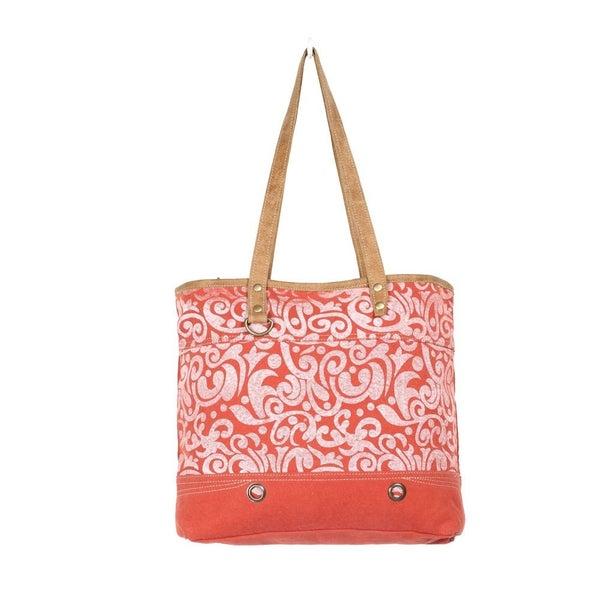Myra Cherry Tote Bag