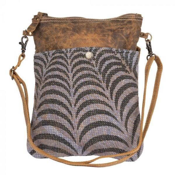 Myra Grey Prism Small Crossbody Bag