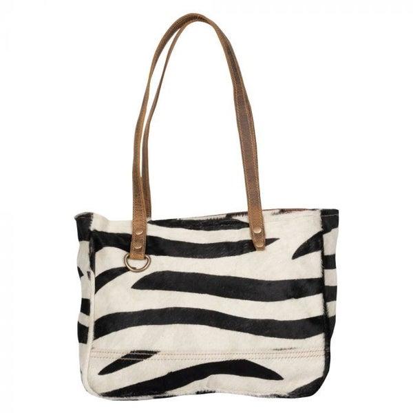 Myra Stripe Eloquence Small Bag