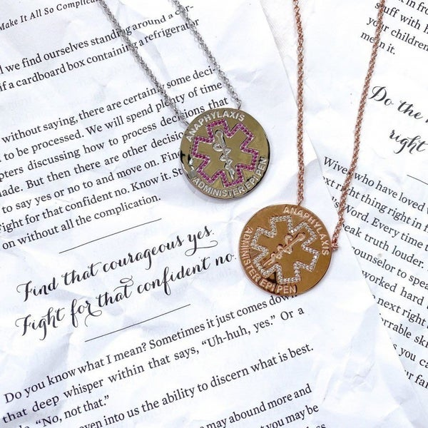 The Guardian Collection Anaphylaxis Alert Necklaces
