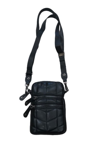 Sondra Roberts Quilted Nappa Cellphone Bag