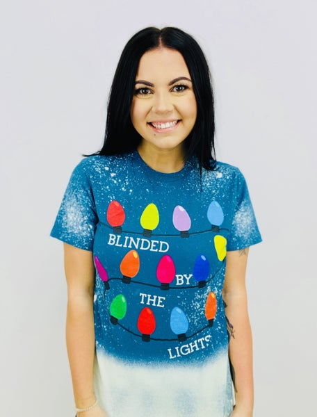 Blinded By The Lights Ombre Splatter Tee