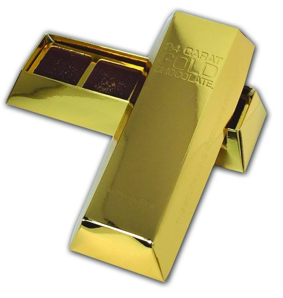 South Bend Gold Bar with real edible Gold