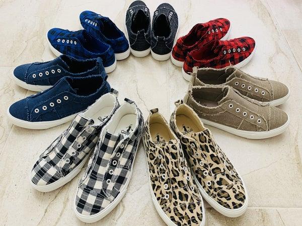 Corkys Babalu Slip On Tennis Shoes