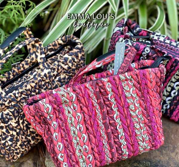 Quilted Braided Tote