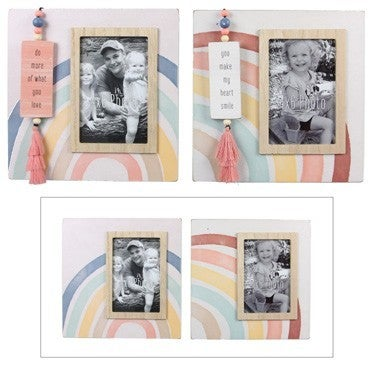 Wood Frame Box 4x6 Frame with Bead Attachment - ATL