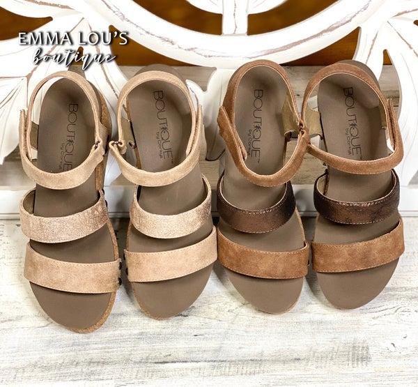 "Corkys ""Cona"" Wedge Sandal"