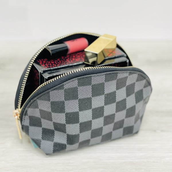 Lacey Cosmetic Pouch Black