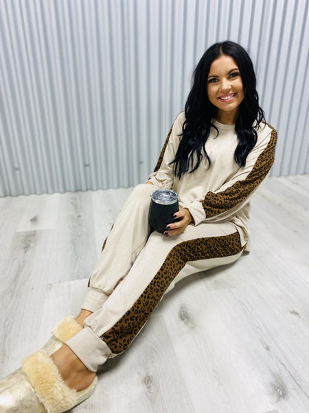 Solid Knit Matching Two Piece Set