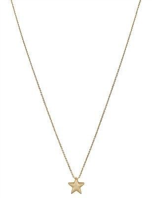 """Star on 16"""" - 18"""" Chain Necklace"""