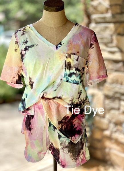 Tie Dye Top and Bottom Set