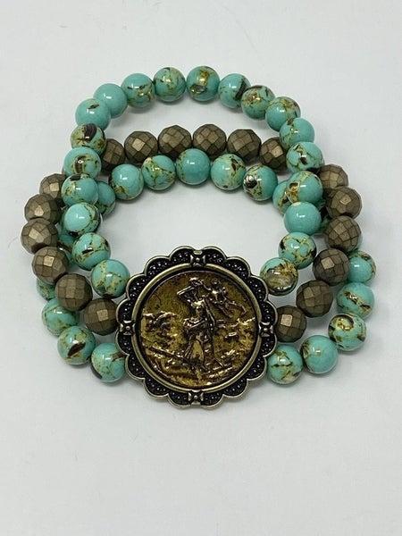 "Melania Clara ""Trinity"" Bracelets"