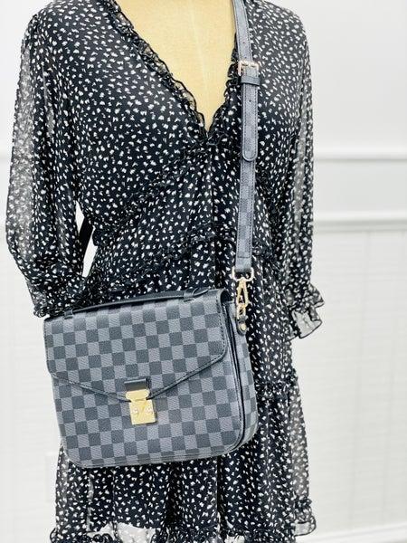 Lacey Satchel Bag Black