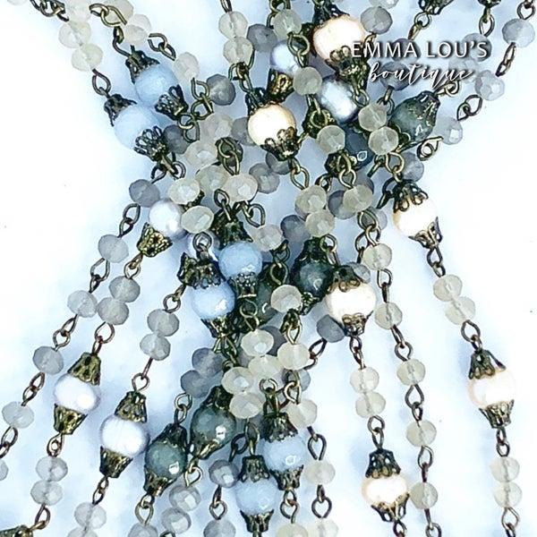 Melania Clara Layla Vintage Style Crystal Bracelet