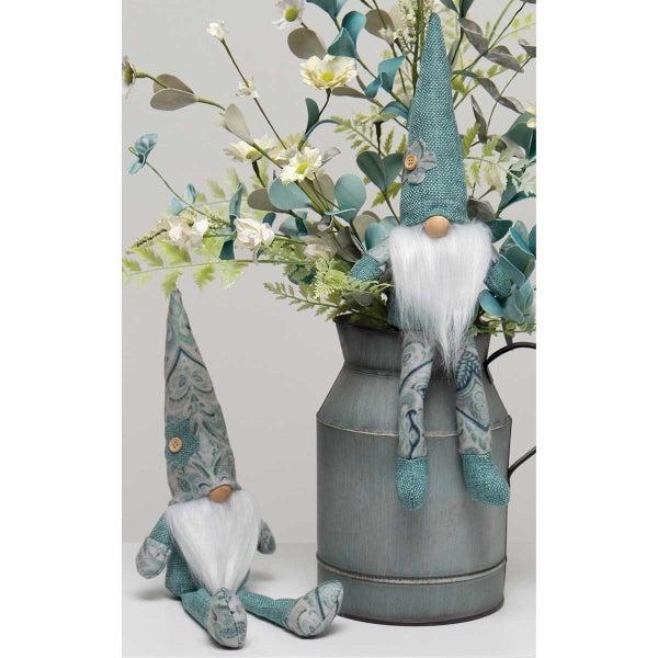 Chateaux Gnome Boys Danglers - Mint/Paisley