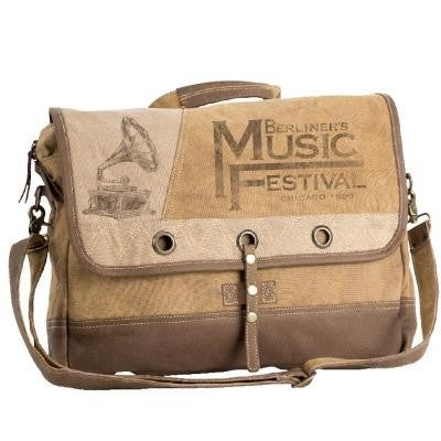 Music Festival Messenger Bag