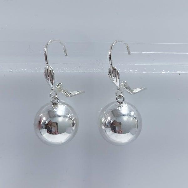Sterling Silver Ball Dangle Earrings