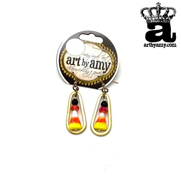 Art By Amy The Dangly Spook Earrings