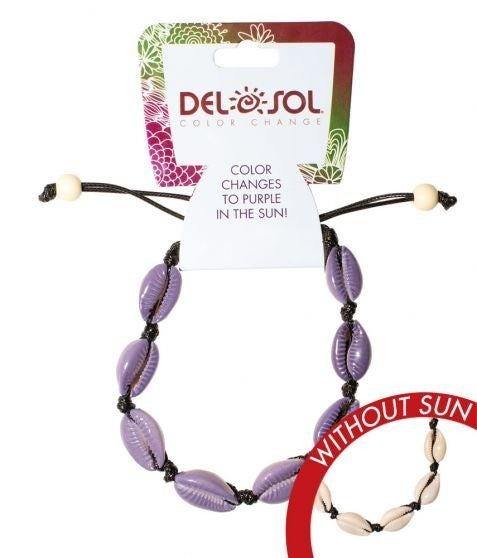 Del Sol Color-Changing  Cowrie Bracelet