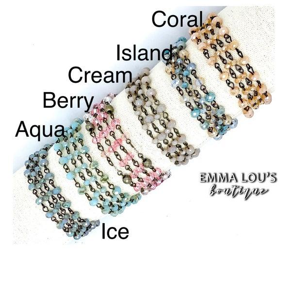 Melania Clara Mae Multi Strand Bracelet