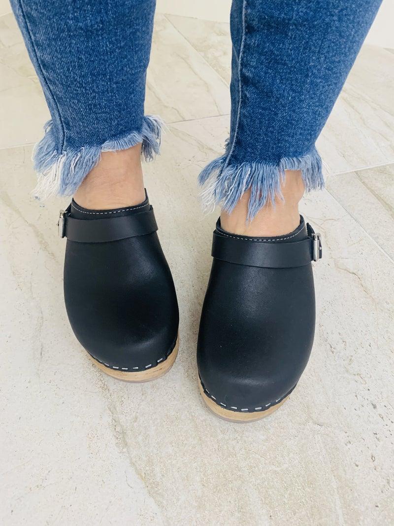 MIA Alma Leather Clogs