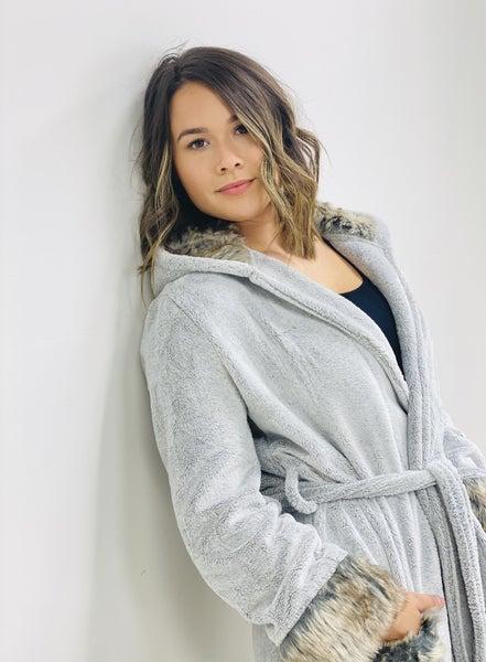 Zurich Luxe Hooded Robe