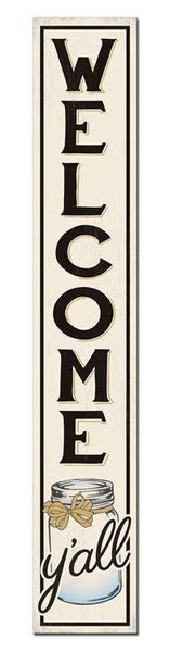 Decorative Porch Board Year Round Signs 8 x 46.5
