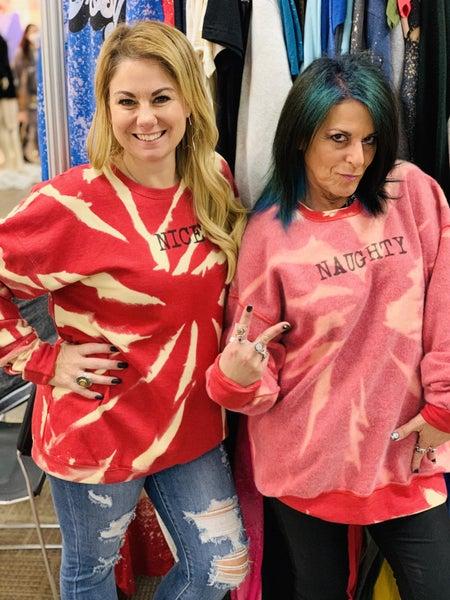 Nice & Naughty Reversible Sweatshirt Pre-Order