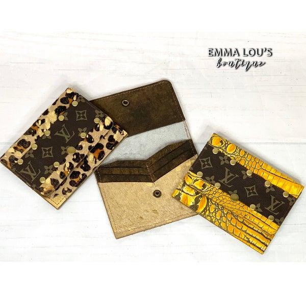 LV Flora Wallet