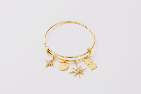 Melania Clara Luna Cosmic Cuff Bracelet