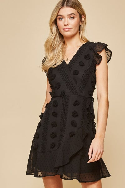 Andree by Unit Black Sleeveless Dress